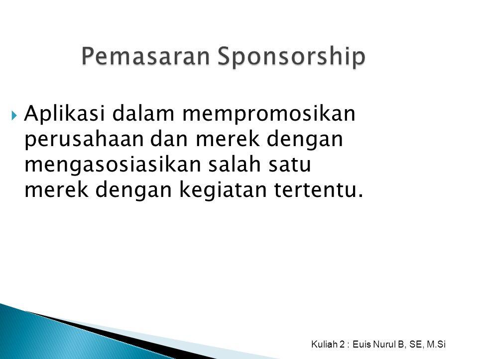 Pemasaran Sponsorship