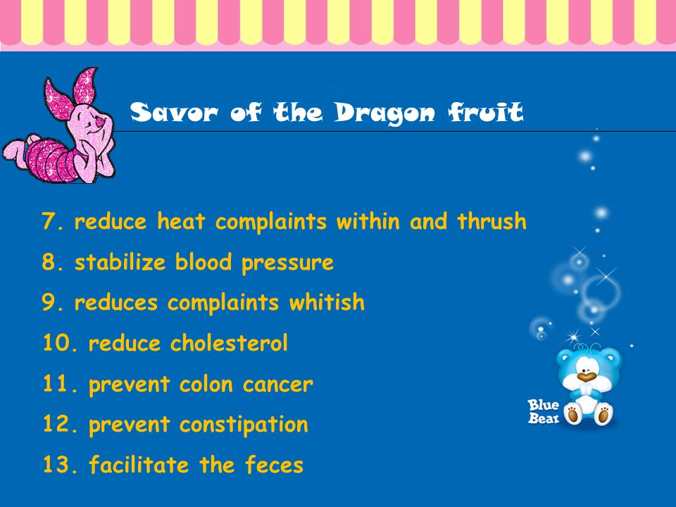 Savor of the Dragon fruit