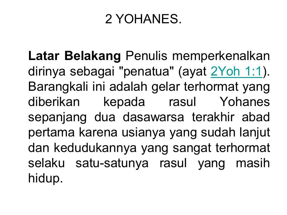2 YOHANES.