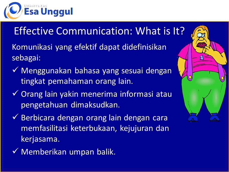 Effective Communication: What is It