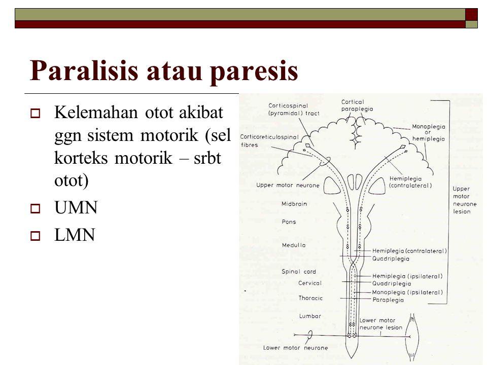 Paralisis atau paresis