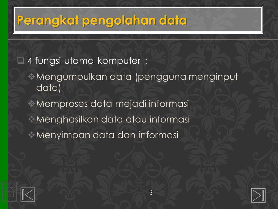Perangkat pengolahan data