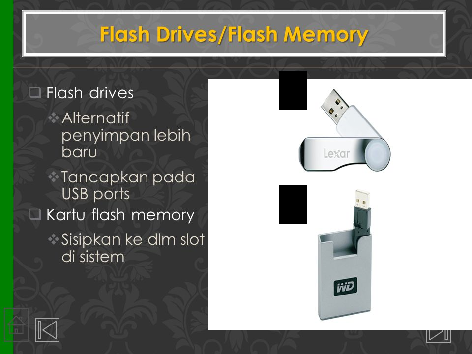 Flash Drives/Flash Memory