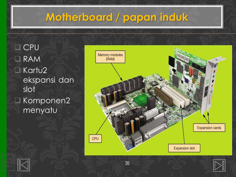 Motherboard / papan induk