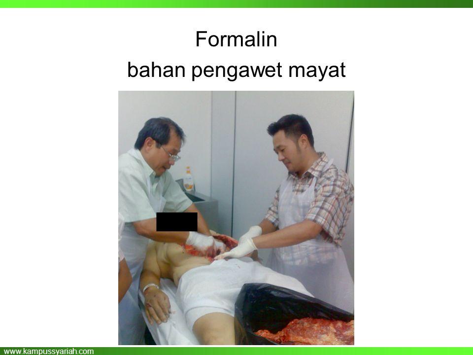 Formalin bahan pengawet mayat