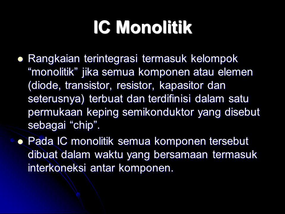 IC Monolitik