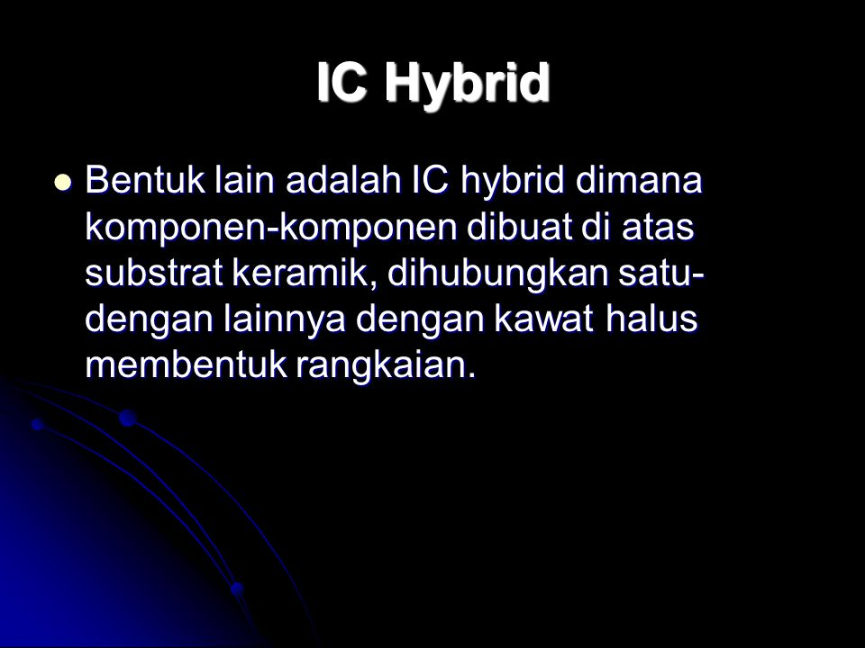 IC Hybrid