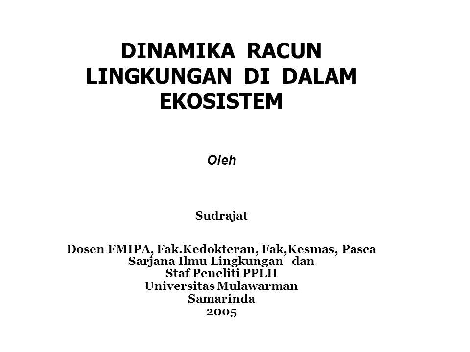 DINAMIKA RACUN LINGKUNGAN DI DALAM EKOSISTEM Universitas Mulawarman