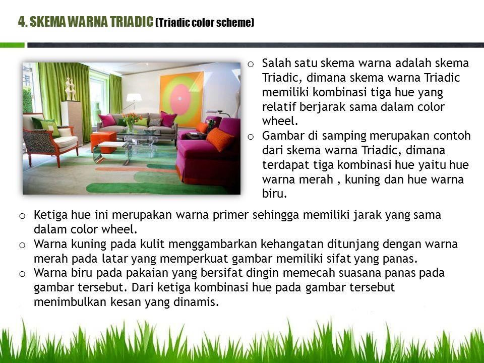 4. SKEMA WARNA TRIADIC (Triadic color scheme)