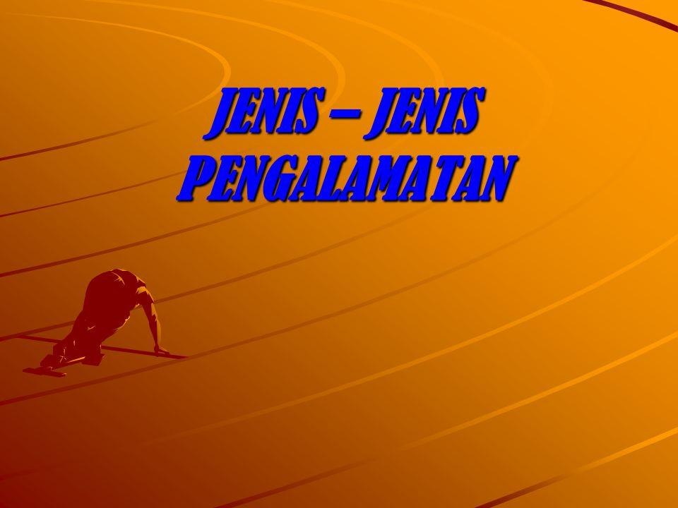 JENIS – JENIS PENGALAMATAN