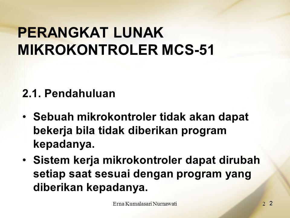 PERANGKAT LUNAK MIKROKONTROLER MCS-51