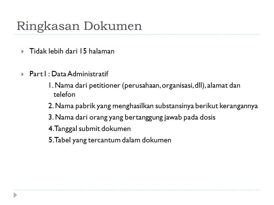 Ringkasan Dokumen Tidak lebih dari 15 halaman
