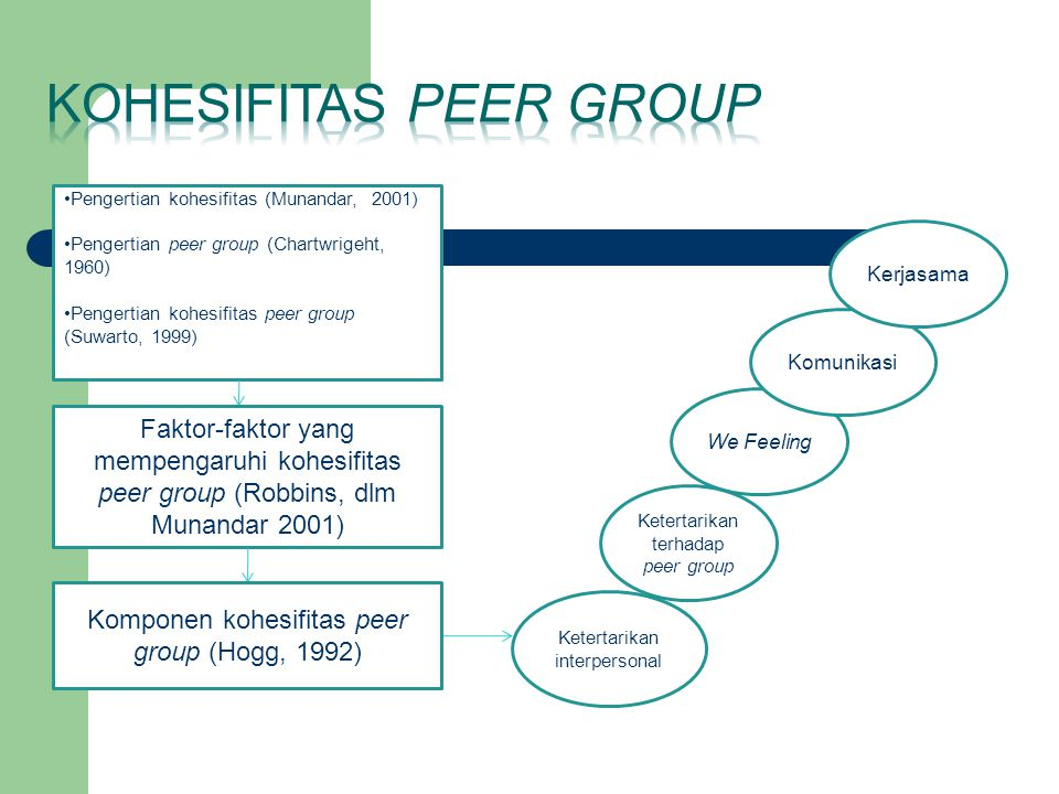 Kohesifitas peer group