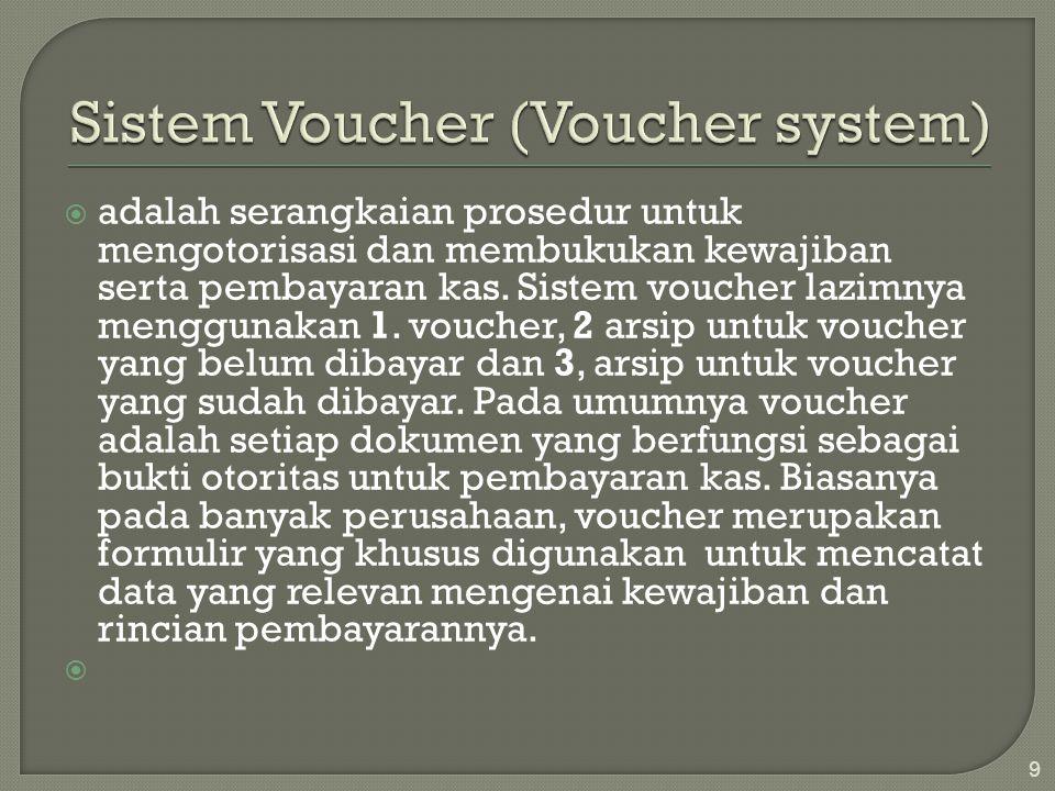 Sistem Voucher (Voucher system)