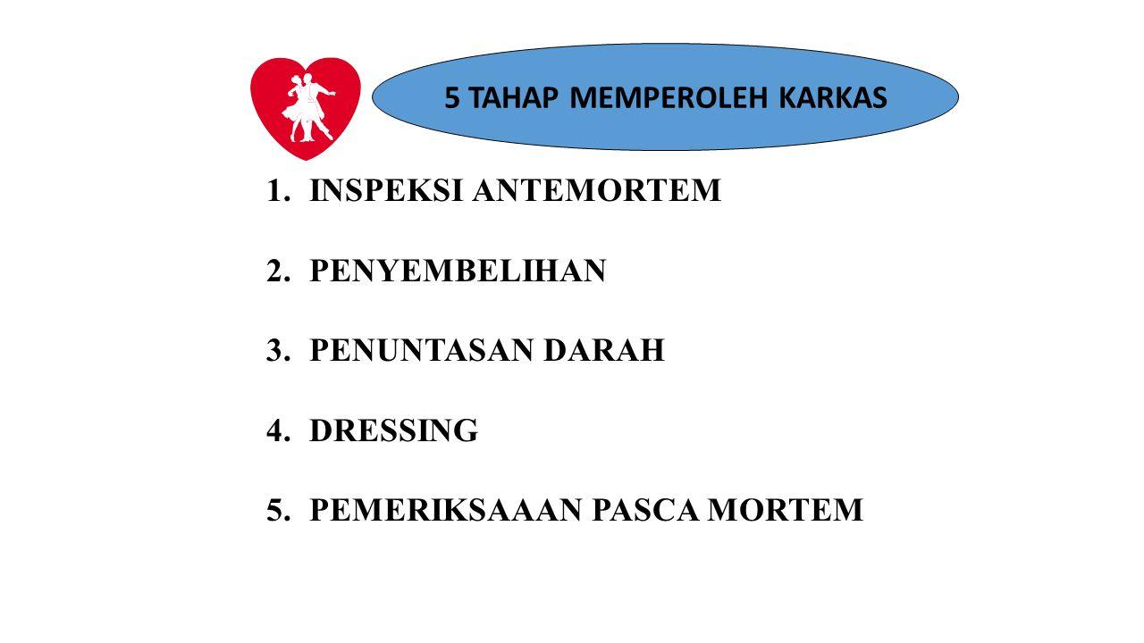 5 TAHAP MEMPEROLEH KARKAS