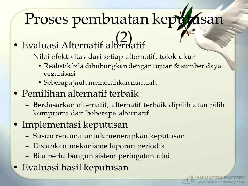 Proses pembuatan keputusan (2)