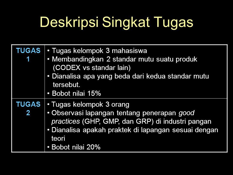 Deskripsi Singkat Tugas