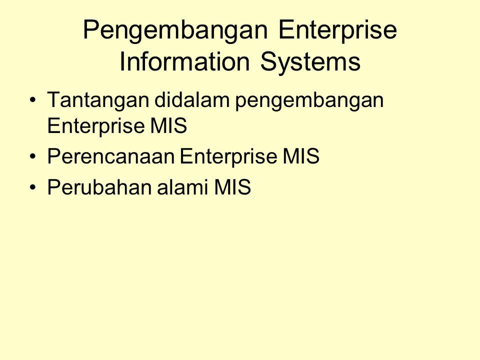 Pengembangan Enterprise Information Systems