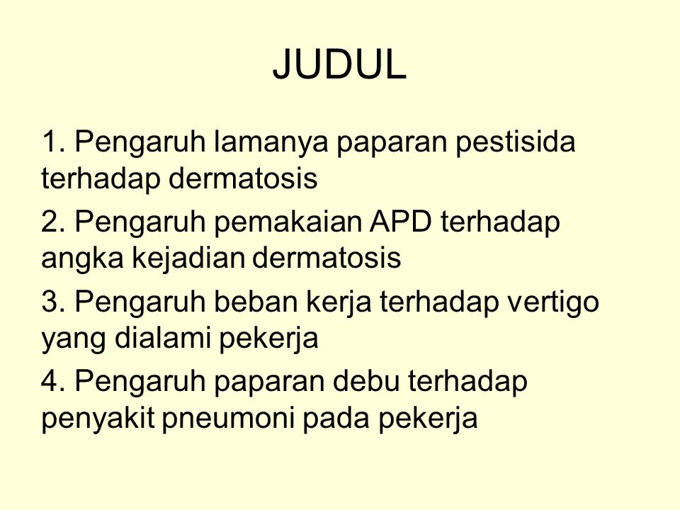 JUDUL