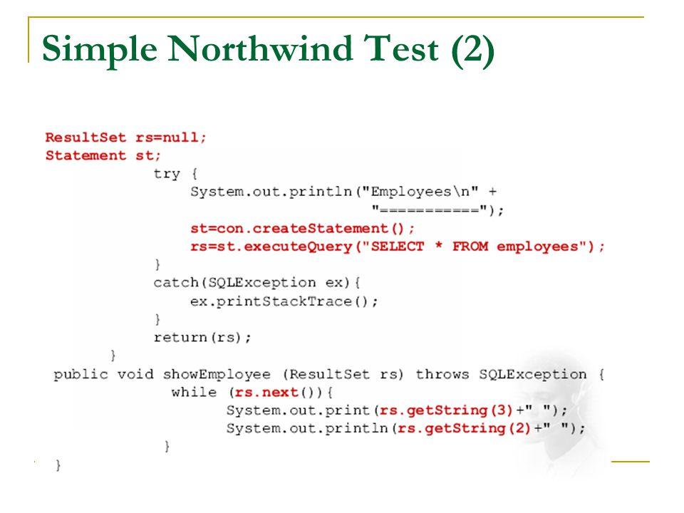 Simple Northwind Test (2)