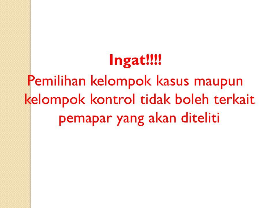 Ingat!!!.