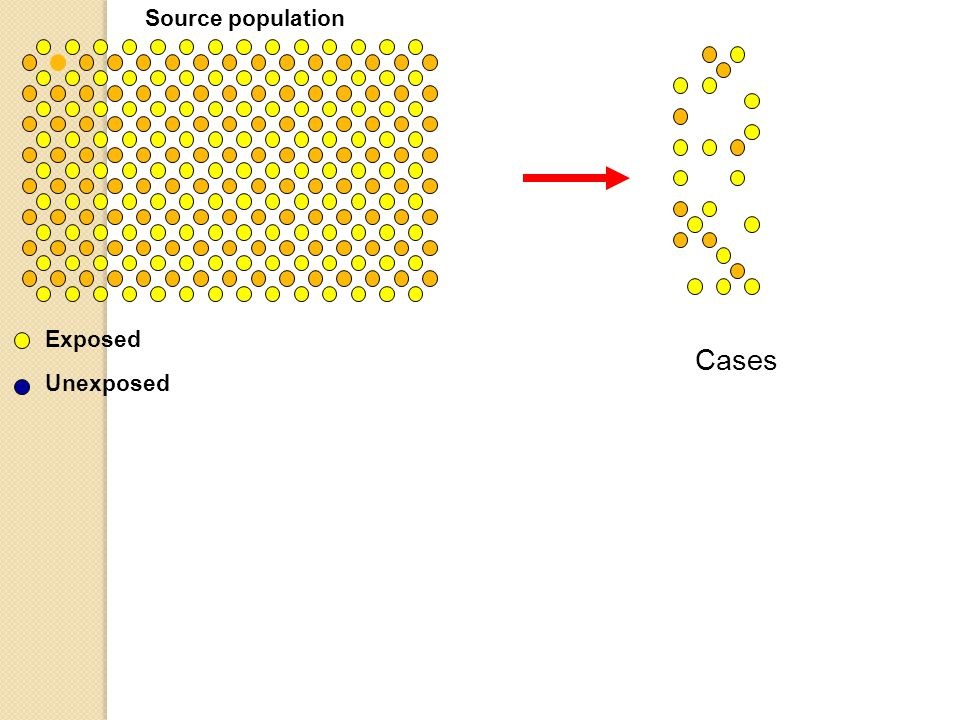 Source population Exposed Cases Unexposed