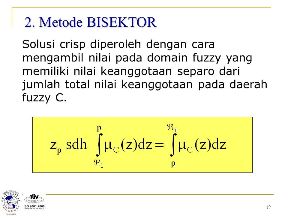 2. Metode BISEKTOR