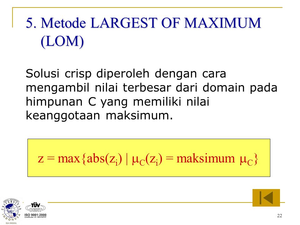 z = max{abs(zi) | mC(zi) = maksimum mC}