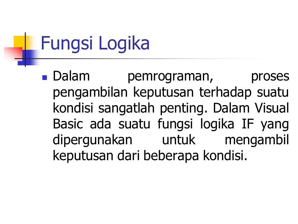 Fungsi Logika