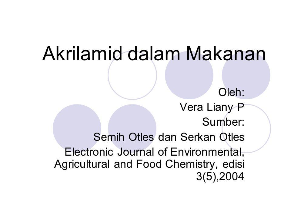 Akrilamid dalam Makanan
