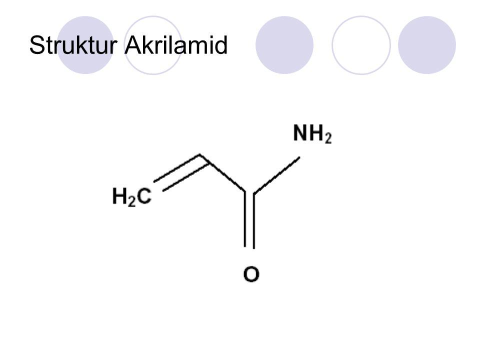 Struktur Akrilamid
