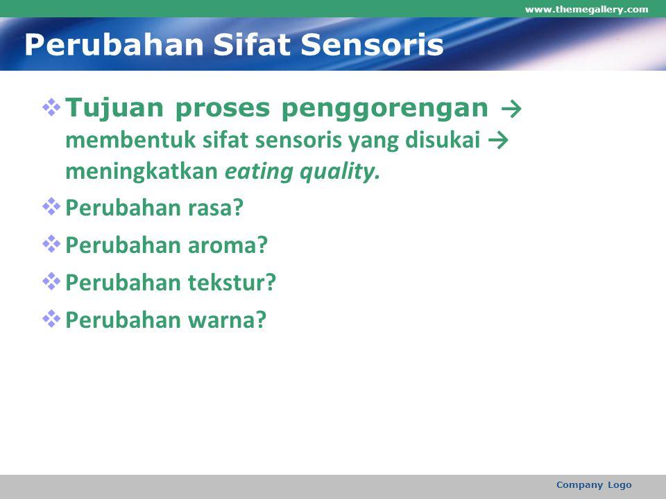 Perubahan Sifat Sensoris