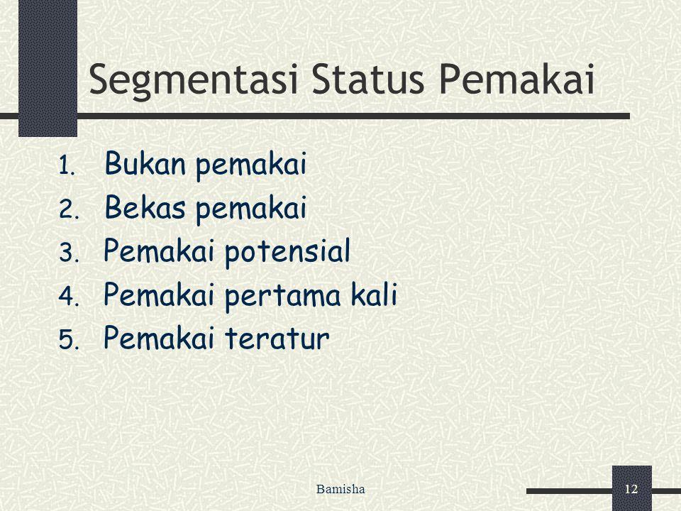 Segmentasi Status Pemakai