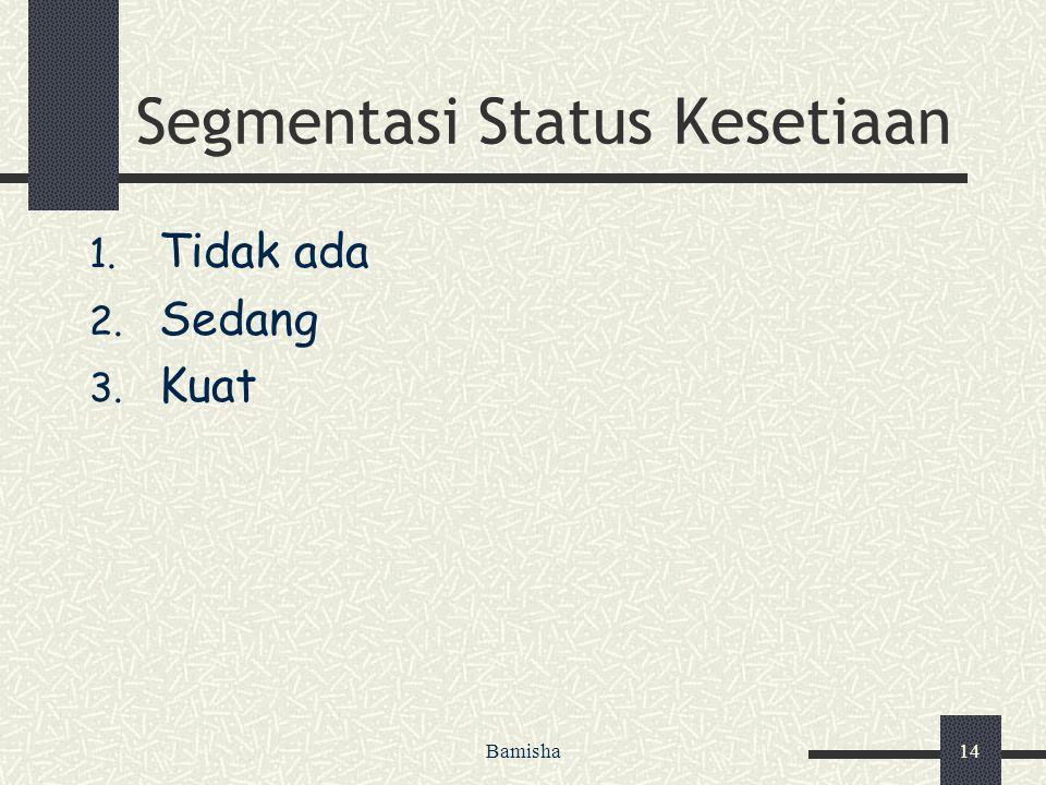 Segmentasi Status Kesetiaan