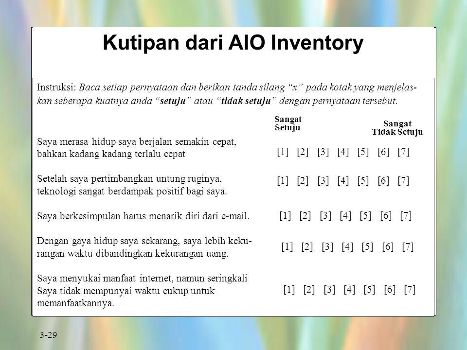 Kutipan dari AIO Inventory