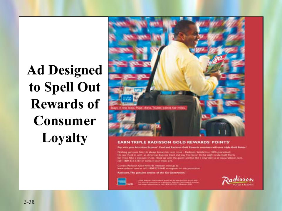 Ad Designed to Spell Out Rewards of Consumer Loyalty