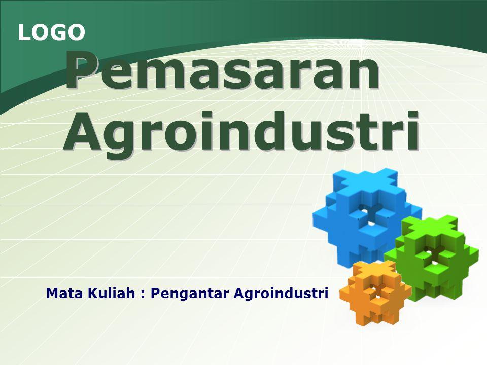 Pemasaran Agroindustri