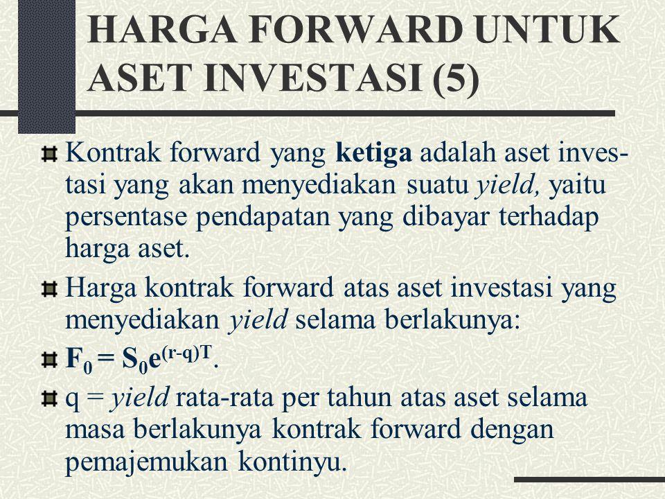 HARGA FORWARD UNTUK ASET INVESTASI (5)