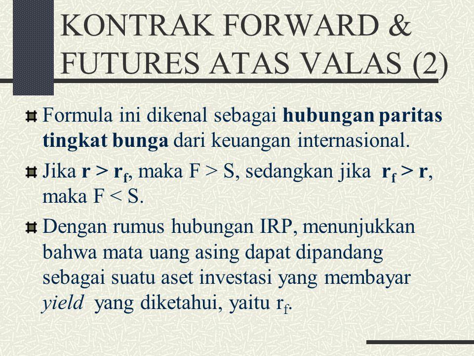 KONTRAK FORWARD & FUTURES ATAS VALAS (2)