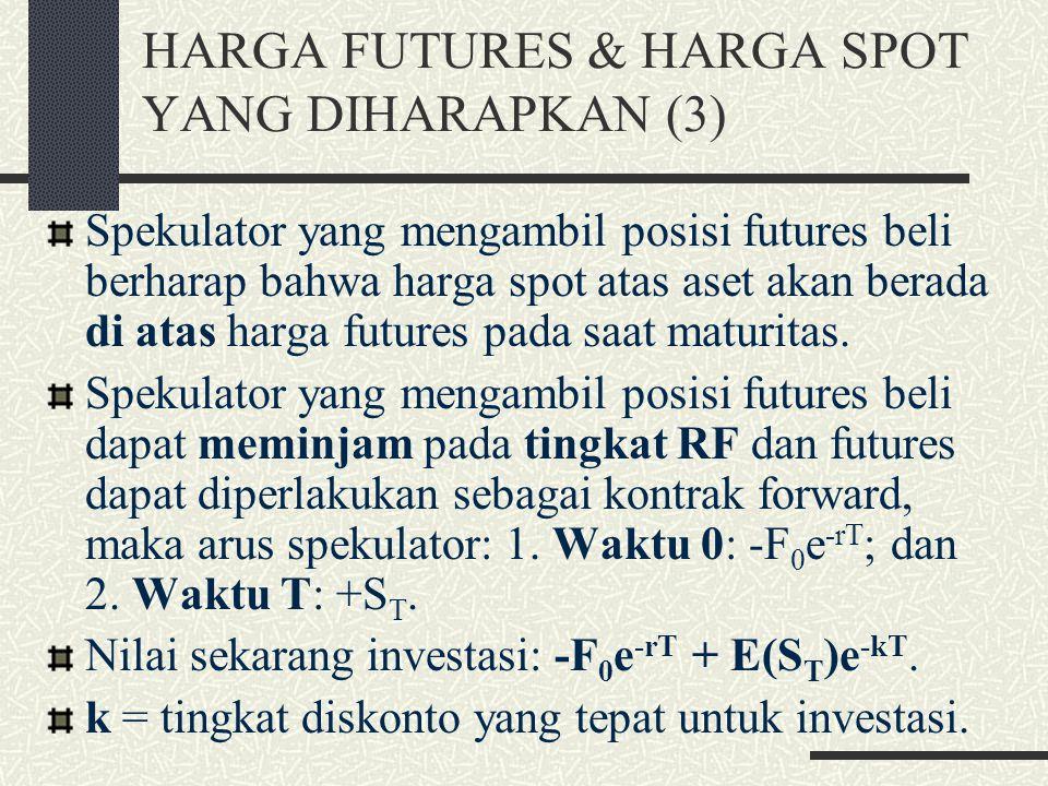 HARGA FUTURES & HARGA SPOT YANG DIHARAPKAN (3)