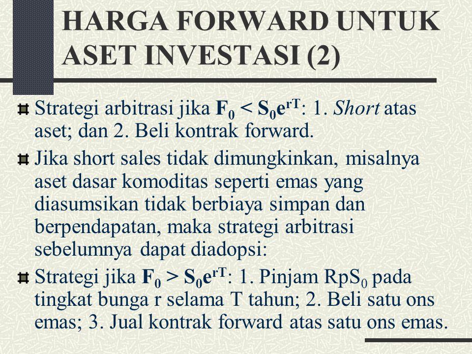HARGA FORWARD UNTUK ASET INVESTASI (2)