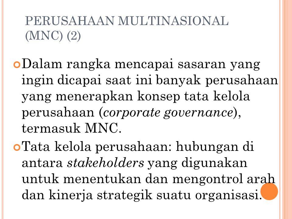PERUSAHAAN MULTINASIONAL (MNC) (2)