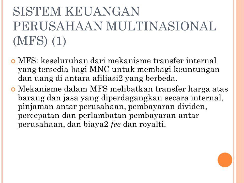 SISTEM KEUANGAN PERUSAHAAN MULTINASIONAL (MFS) (1)