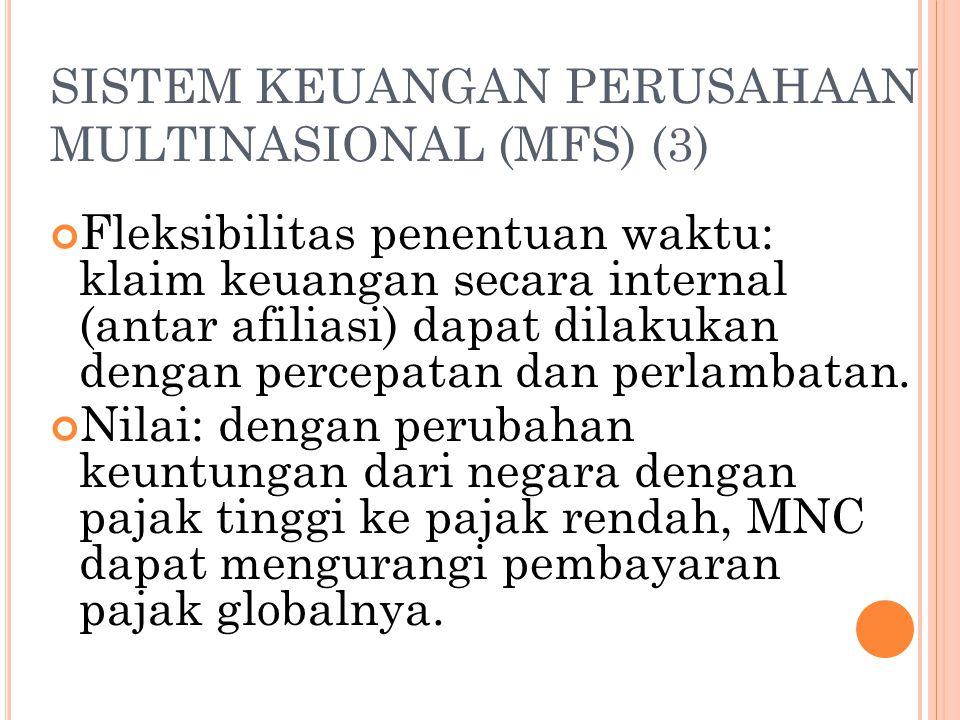 SISTEM KEUANGAN PERUSAHAAN MULTINASIONAL (MFS) (3)