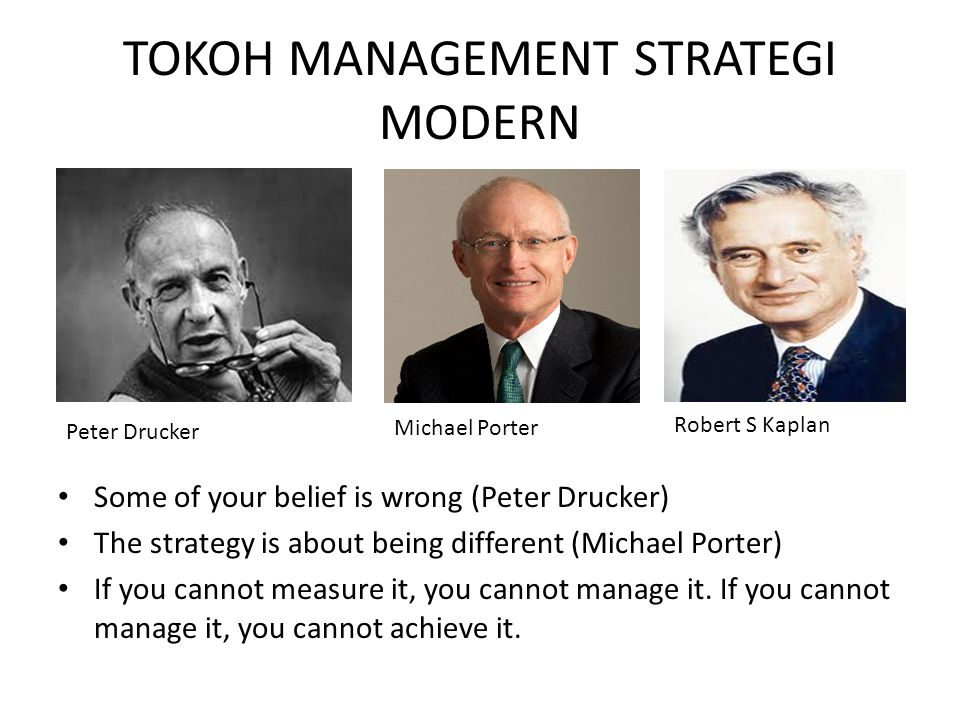 TOKOH MANAGEMENT STRATEGI MODERN