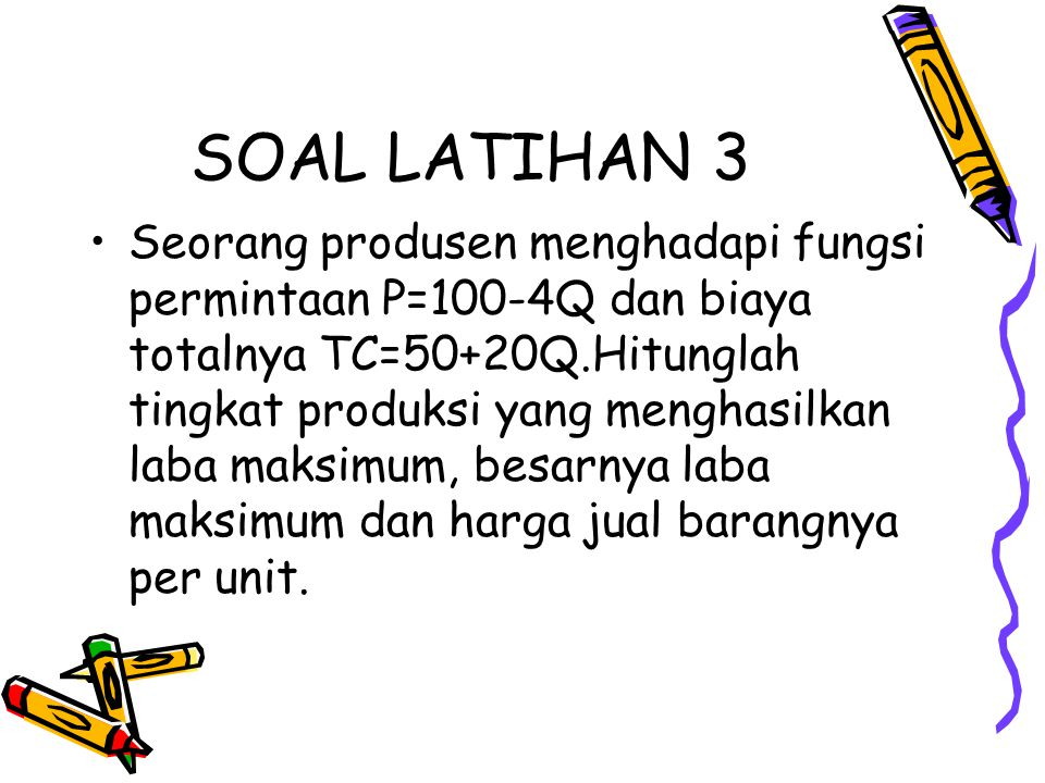 SOAL LATIHAN 3
