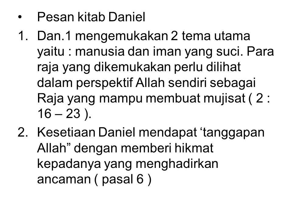 Pesan kitab Daniel