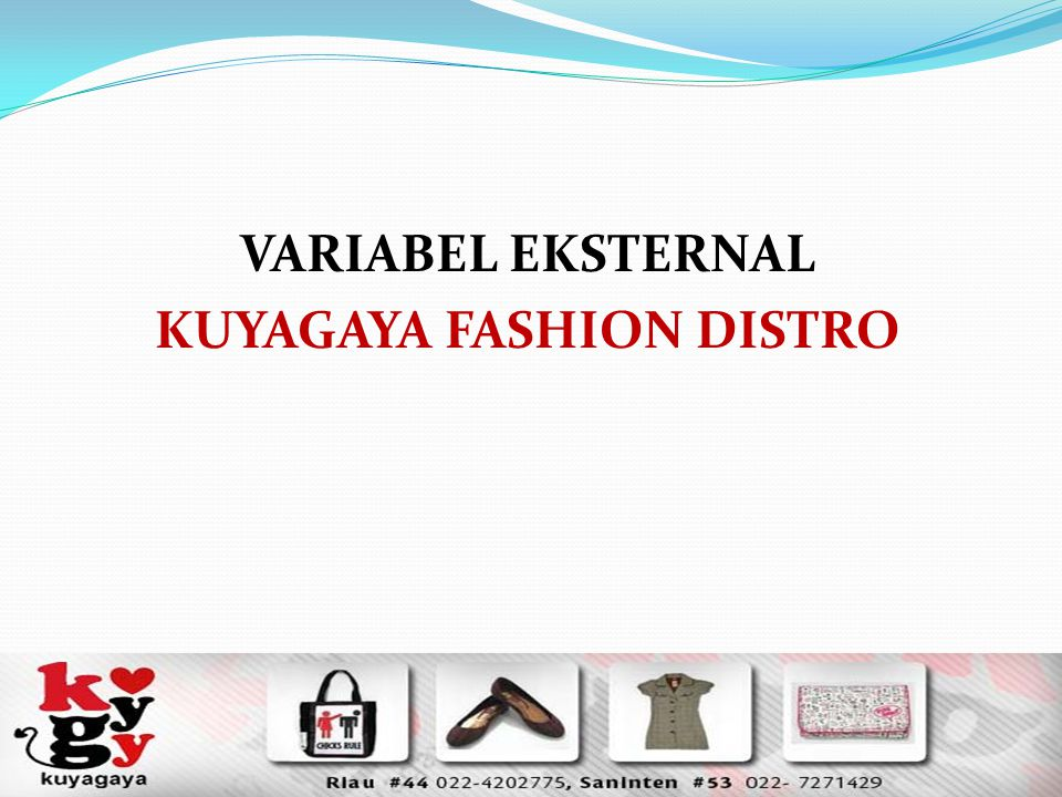 KUYAGAYA FASHION DISTRO