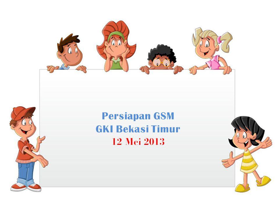 Persiapan GSM GKI Bekasi Timur 12 Mei 2013