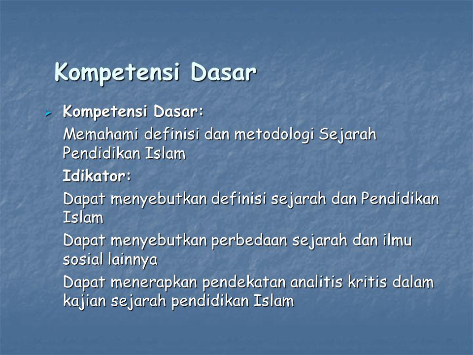 Kompetensi Dasar Kompetensi Dasar: